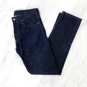 J. Crew- Dark Washed Jeans Size 30x32